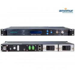 Transmisor óptico 1550nm, doble salida 6dB | ST1550I-2x6
