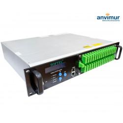 Amplificador EyDFA 32 puertos x 19 dB WDM láser JDSU
