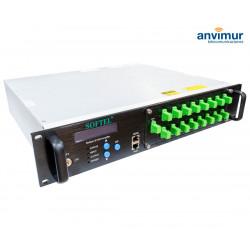 Amplificador EyDFA 8 puertos x 19 dB WDM láser JDSU