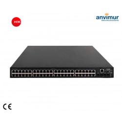 Switch 48x Giga-T + 4x SFP + PoE+ 370W (AC/DC) 5048PV3EI-PWR | H3C