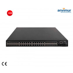 Switch 48x Giga-T PoE+ 4x10G SFP Plus (AC/DC) | H3C