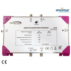Amplificador Multibanda 35dB Novamax MA30