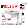 Omnidirectional Antenna 360º 4K VHF/UHF 42dB LTE Filter | ELIXA
