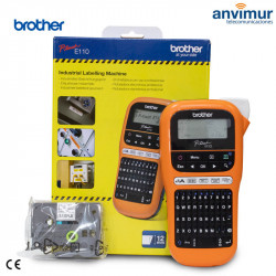 PT-E110, Professional Portable Electronic Label Printer   Brother