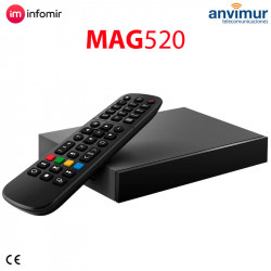 IPTV Set Top Box MAG520 4K and HEVC support   Infomir