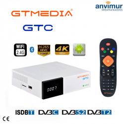Satellite Receiver GTMedia GTC 4K Android 6.0