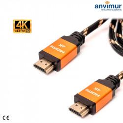 Cable HDMI 4K macho 1.5M UHD 2.0v