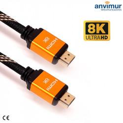 HDMI 4K male 2M UHD 2.0v cable