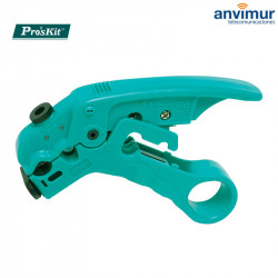 CP-508, Universal cable stripper for RG59/6/7/11 Coaxial and UTP/FTP cables | Pro`sKit®.