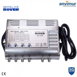 Amplif. Central Multibanda 4E / 53dB / RT-405 PLUS filtro 5G | Rover