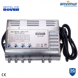 Multiband Central Amplifier. 4 input / 53dB / RT-405 PLUS, 5G