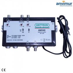 Multiband Amplifier 3 Inputs AM340 4G/5G Filter | ANTTRON