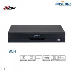 XVR 5in1 8 channels HDCVI/HDTVI/AHD/CVBS + 2 channels IP 6MP | XVR4108HS-I