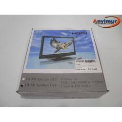 Divisor HDMI de 4 puertos