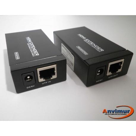 Extensor HDMI a través de UTP de hasta 50m