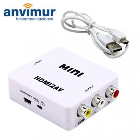 Convertidor HDMI a AV