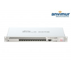 Cloud Core Router 12 puertos Mikrotik CCR1016-12G