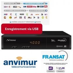 SAT HD STB SRT 7405 (EUTELSAT) + FRANSAT CARD