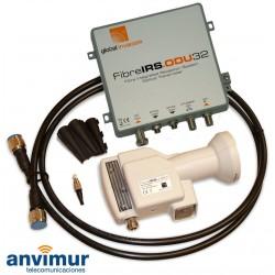 GI - FibreIRS®-ODU32 KIT - LNB todabanda + conversor óptico