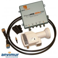 GI - FibreIRS®-ODU32 KIT - Wholeband LNB + optical converter