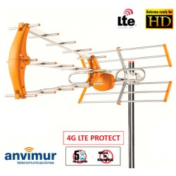 DTT ANTENNA WITH 35 ELEMENTS AND LTE FILTER