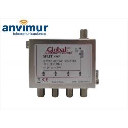 SAT active Splitter 700-2150Mhz, 4 outputs
