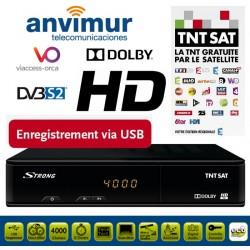 SRT 7404 HD SAT STB (ASTRA) + TNT SAT CARD
