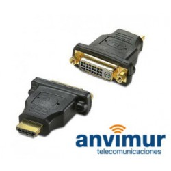 Adaptador HDMI/M a DVI/H