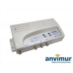 amplificador de satélite con mezclador SAT/TV