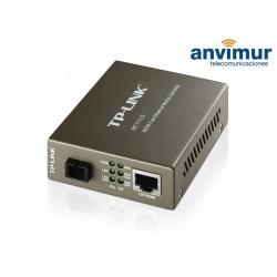 10/100 1 fiber SM media converter