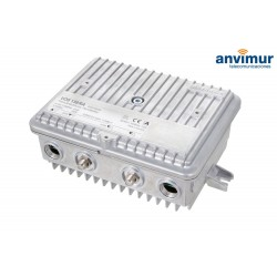 CATV house connection amplifier, remotely fed KATHREIN, 40dB, GaAs-MMIC