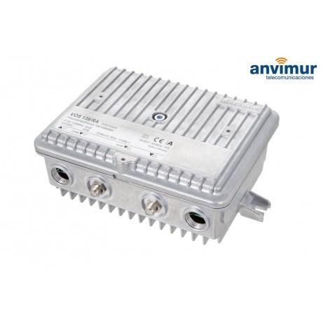 Amp. distr. CATV telealimentado KATHREIN, 40dB, GaAs-MMIC