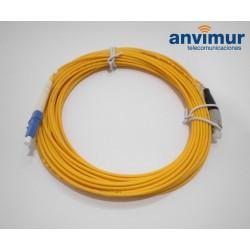 FC/PC - LC/UPC SM9/125 10M Ø 3mm fiber patch cable