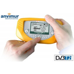 TVHUNTER+: Buscador y medidor portatil de señales DVB-T/T2