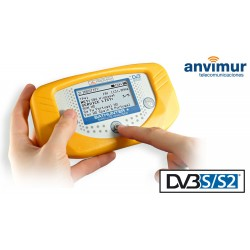 SATHUNTER+: Buscador y medidor portatil de señales DVB-S/S2 y DSS