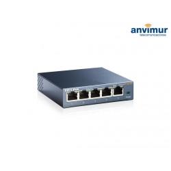 Switch sobremesa 10/100/1000 5 puertos TL-SG105