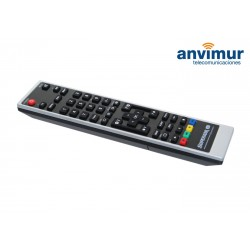 Universal IR programmable remote control