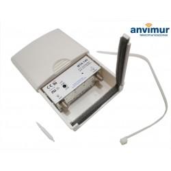 UHF 40 dB POLE AMPLIFIER, LTE COMPATIBLE, SMB