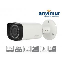 Cámara tubular HDCVI, 1 Megapixel 720p, IR LED, varifocal
