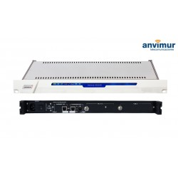 Receptor DVB-S/S2 FTA Salida ASI e IP simultaneas