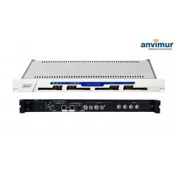 DVB-S/S2 QUAD Satellite Receiver CI, ASI output and IP outputs