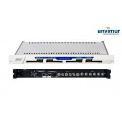 Receptor HEXA DVB-S/S2 CI Salida ASI e IP simultaneas
