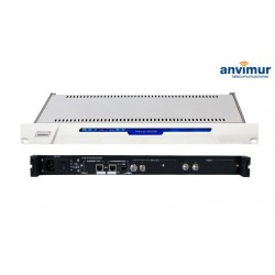 Receptor DUO DVB-S/S2 FTA Salida ASI e IP simultaneas