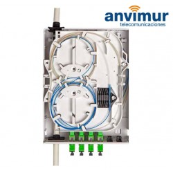 EasyBox Indoor Distribution Box for 24 splices and 12 clients