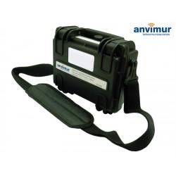 Bobina de lanzamiento c/filtro 1Km SC/APC SM para OTDR