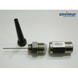 "male 5/8"" connector for MK27FC cable 15 mm (M44)"