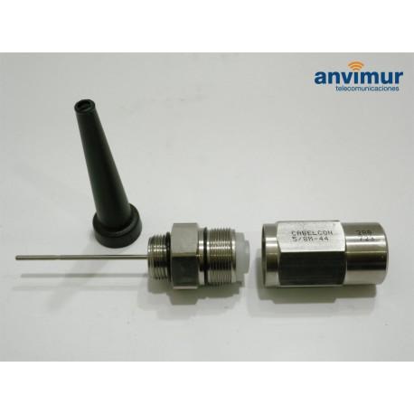"""Conector macho 5/8"""" para cable MK27FC 15mm (M44)"""