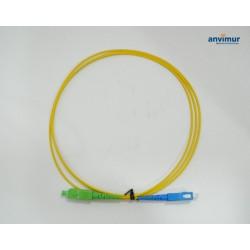 Latiguillo SC/APC - SC/UPC SM9/125 1,5M Ø 2mm