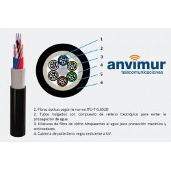 Cablescom-FVP-32 F – Fibra de vidrio y cubierta polietileno (4 tubo x 8 fibras)