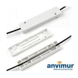 Caja protectora para fusiones, rectangular